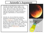 aristotle s argument