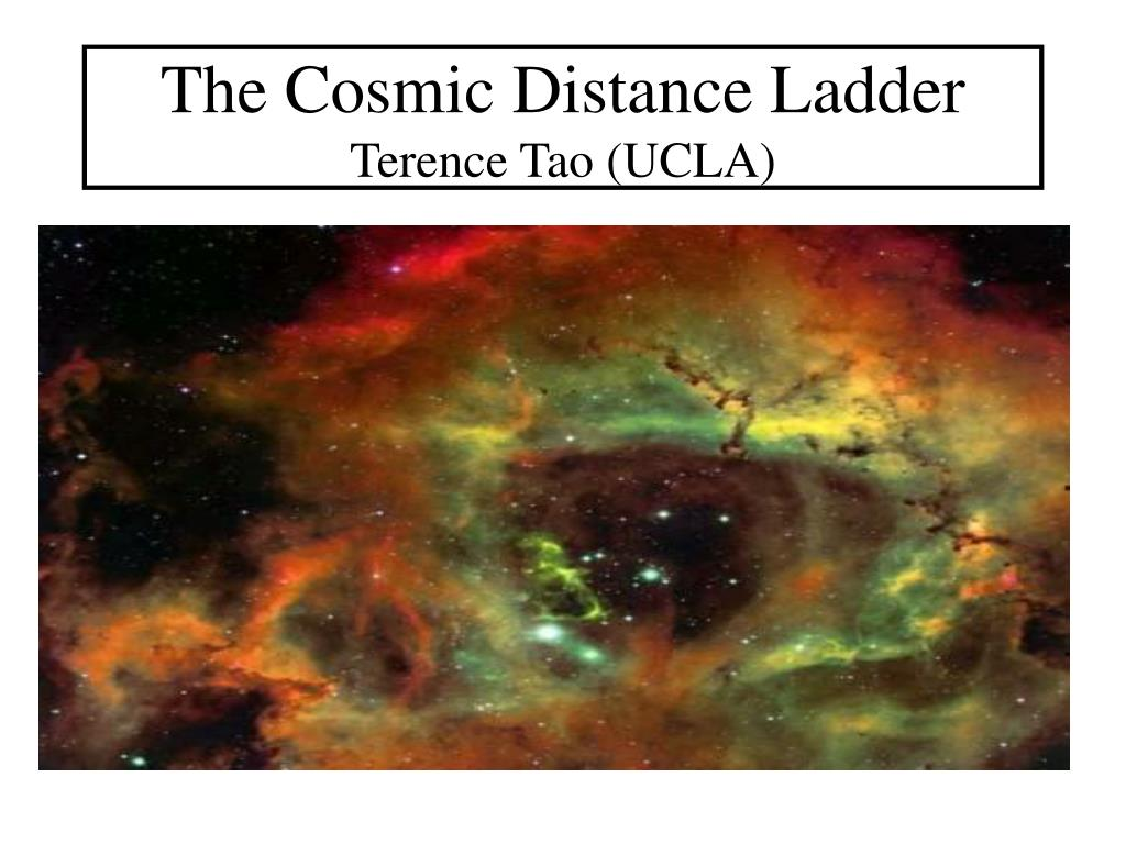 the cosmic distance ladder terence tao ucla l.
