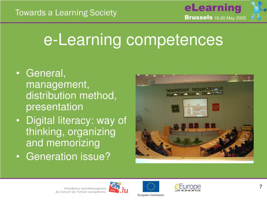 e-Learning competences