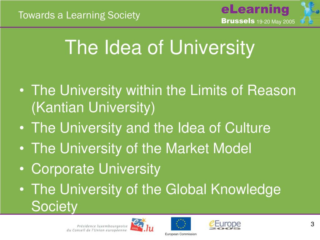 The Idea of University