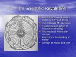 d the scientific revolution