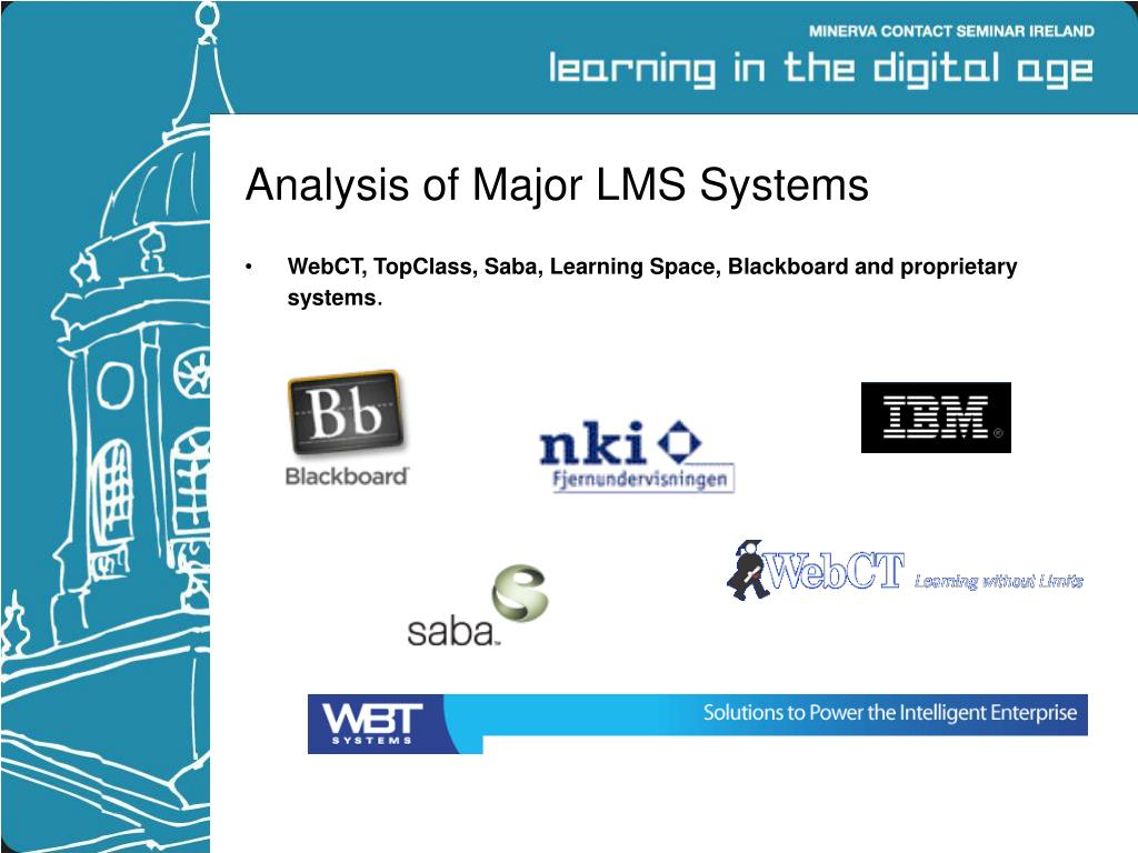 Analysis of Major LMS Systems