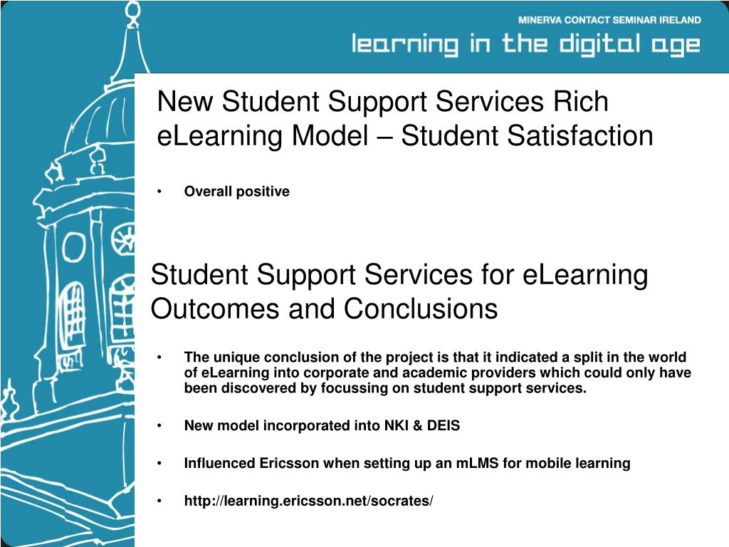 New Student Support Services Rich eLearning Model – Student Satisfaction