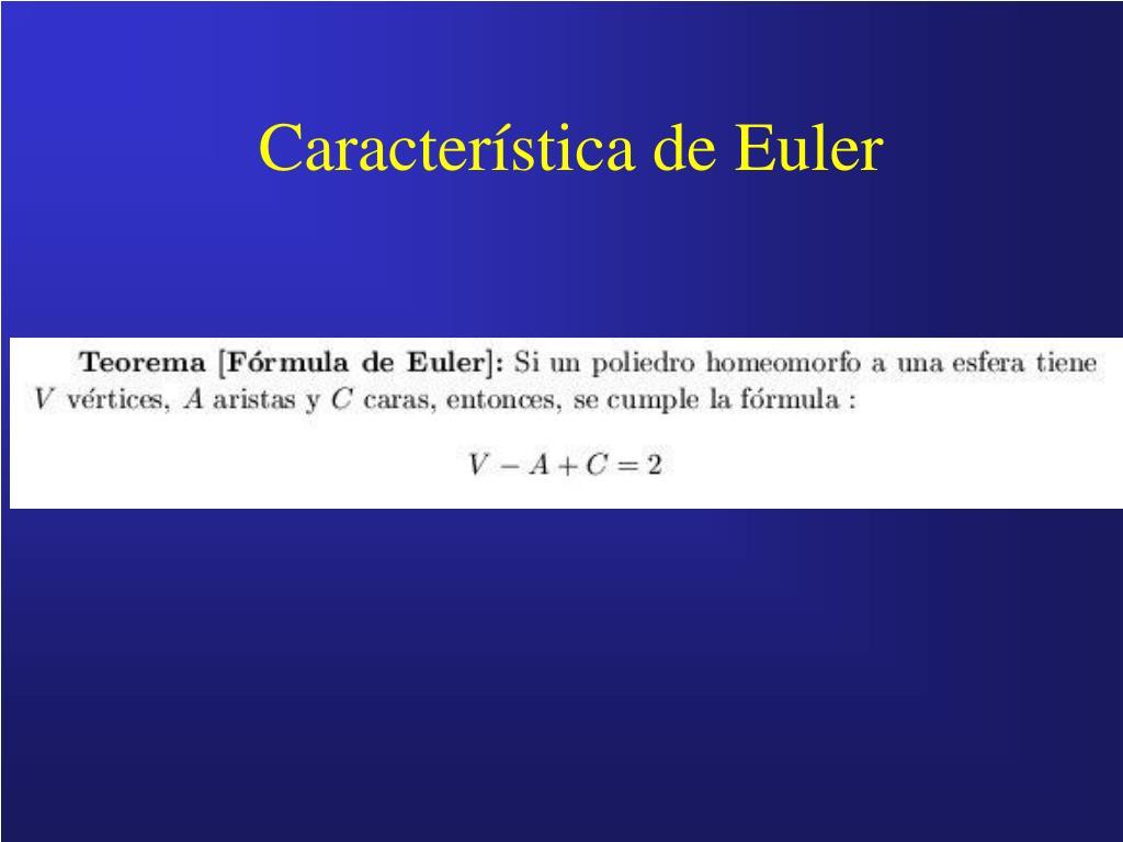 Característica de Euler