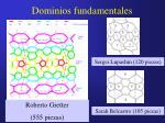 dominios fundamentales