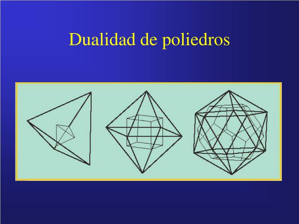 Dualidad de poliedros