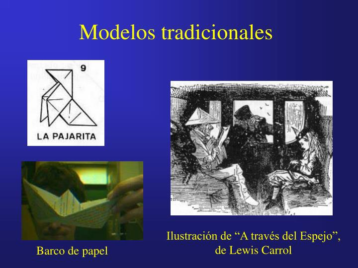 Modelos tradicionales