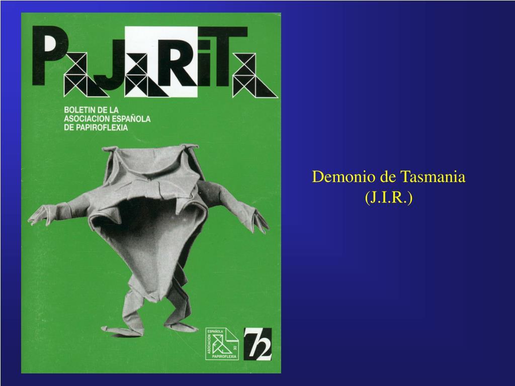 Demonio de Tasmania (J.I.R.)