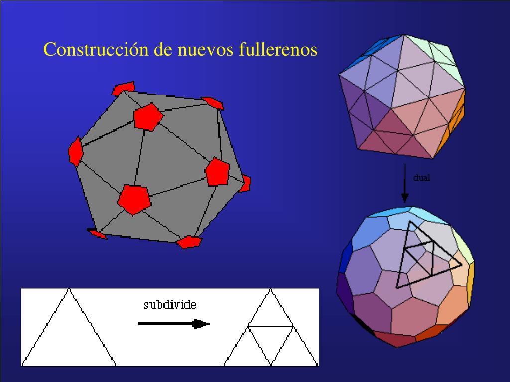 Construcción de nuevos fullerenos
