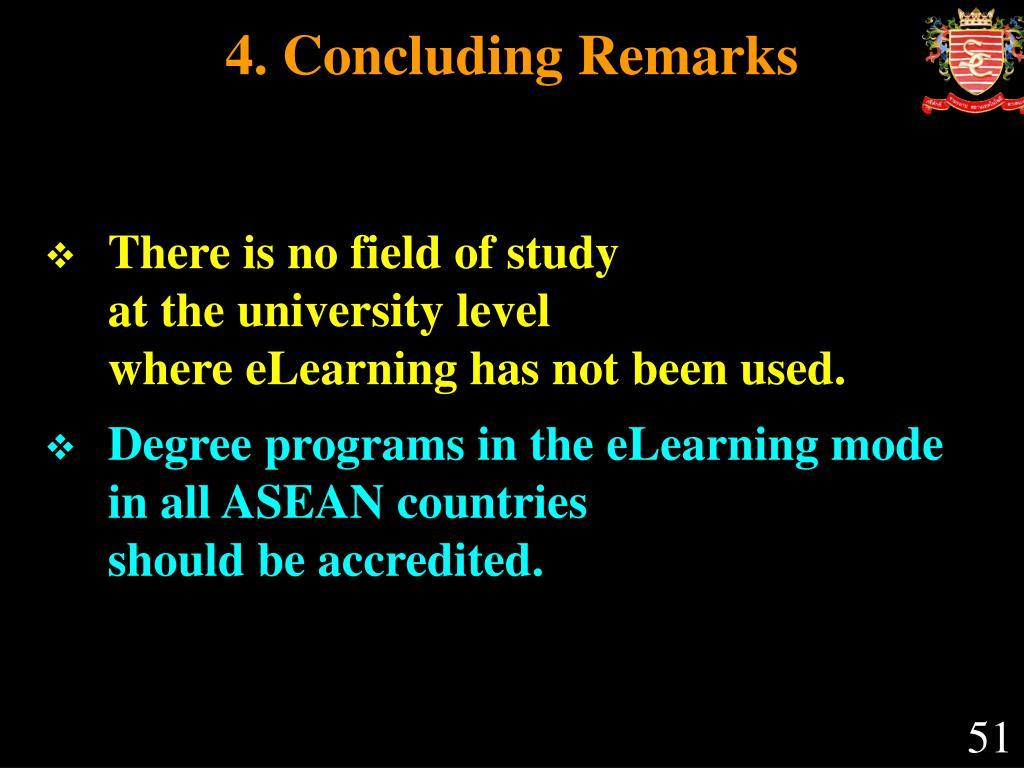 4. Concluding Remarks