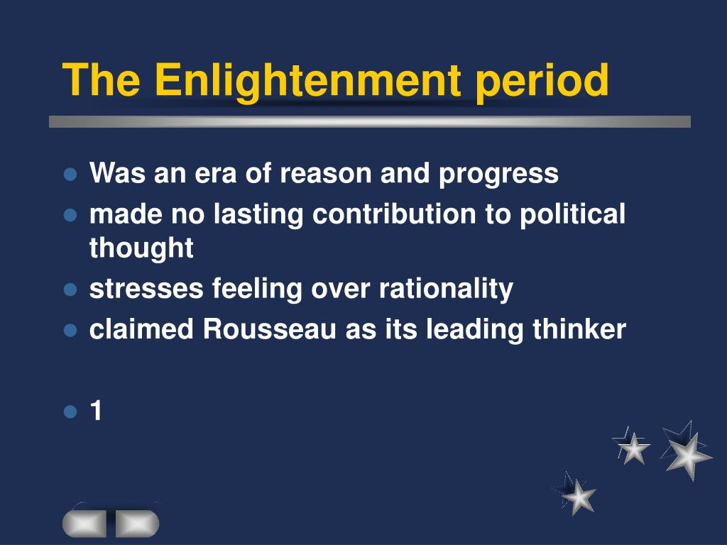 the contribution of the enlightenment to