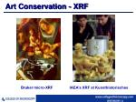 art conservation xrf