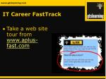 it career fasttrack13