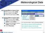 meteorological data4