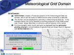 meteorological grid domain