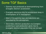 some tgf basics