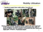 mobility utilization
