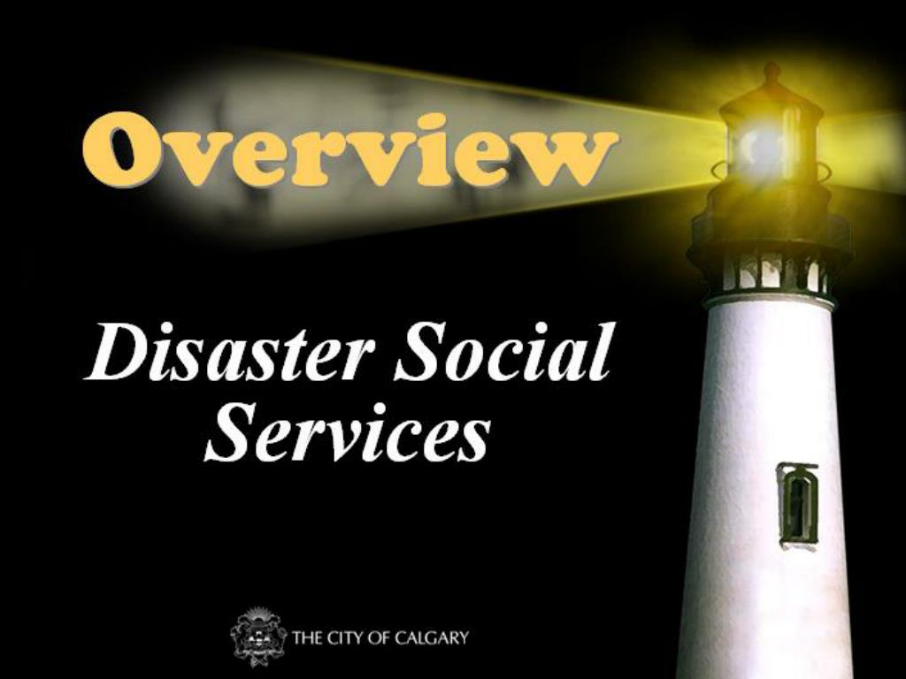 disaster social services l.