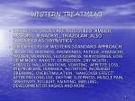 western treatment