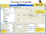 overview of argouml windows