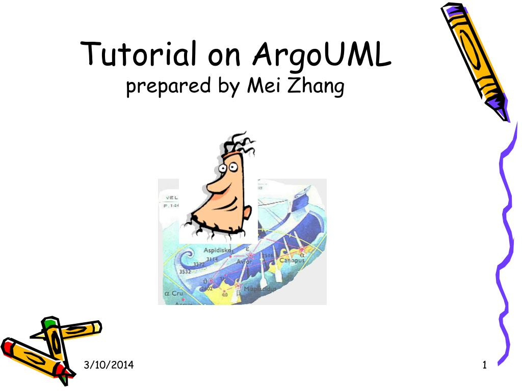 tutorial on argouml prepared by mei zhang l.