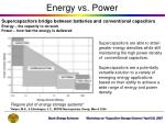 energy vs power