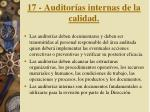 17 auditor as internas de la calidad