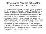 interpreting the apparent motion of the stars sun moon and planets3