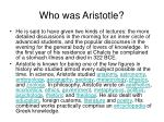 who was aristotle13