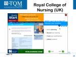 royal college of nursing uk