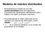 modelos de retardos distribuidos14