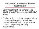 national comorbidity survey replication7