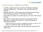private equity abb vetco aibel