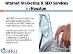 internet marketing seo services in houston