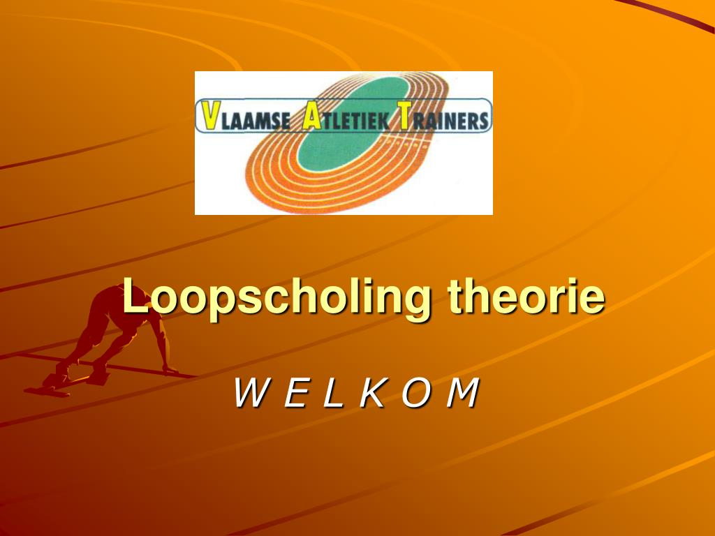loopscholing theorie l.