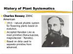 history of plant systematics23