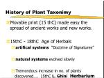history of plant taxonimy10