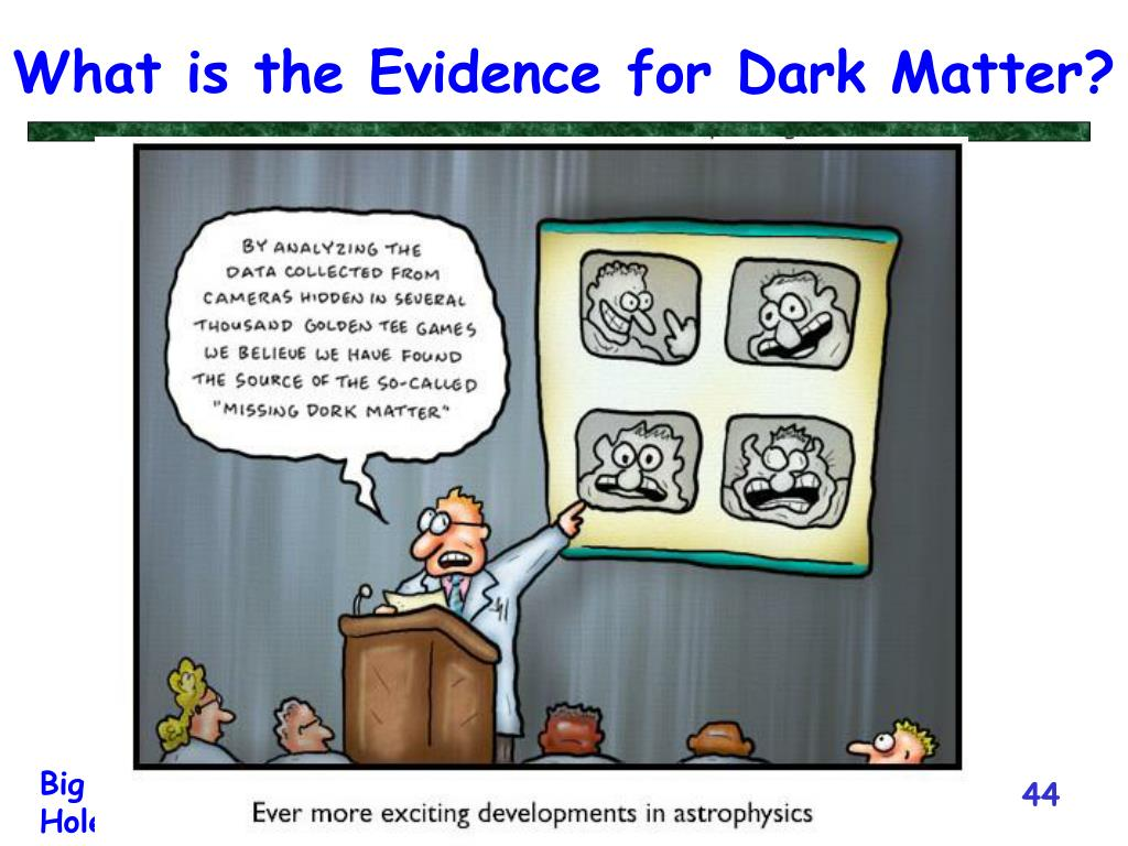What is the Evidence for Dark Matter?