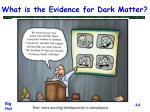 what is the evidence for dark matter