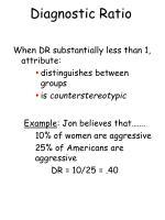 diagnostic ratio63