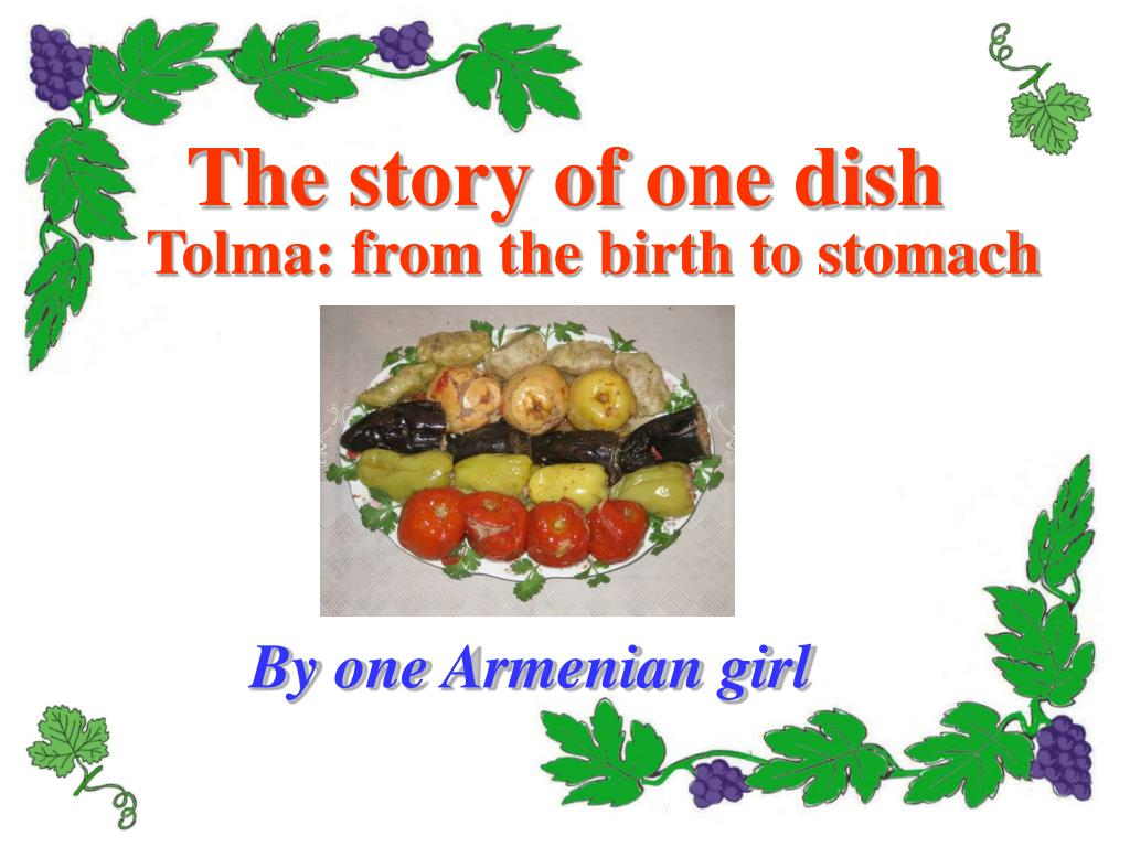 the story of one dish l.