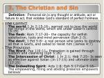 3 the christian and sin