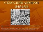 genocidio armeno 1915 1916