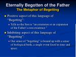 eternally begotten of the father the metaphor of begetting