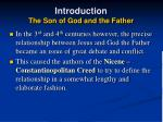 introduction the son of god and the father9