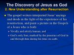 the discovery of jesus as god 2 new understanding after resurrection20