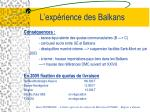 l exp rience des balkans22