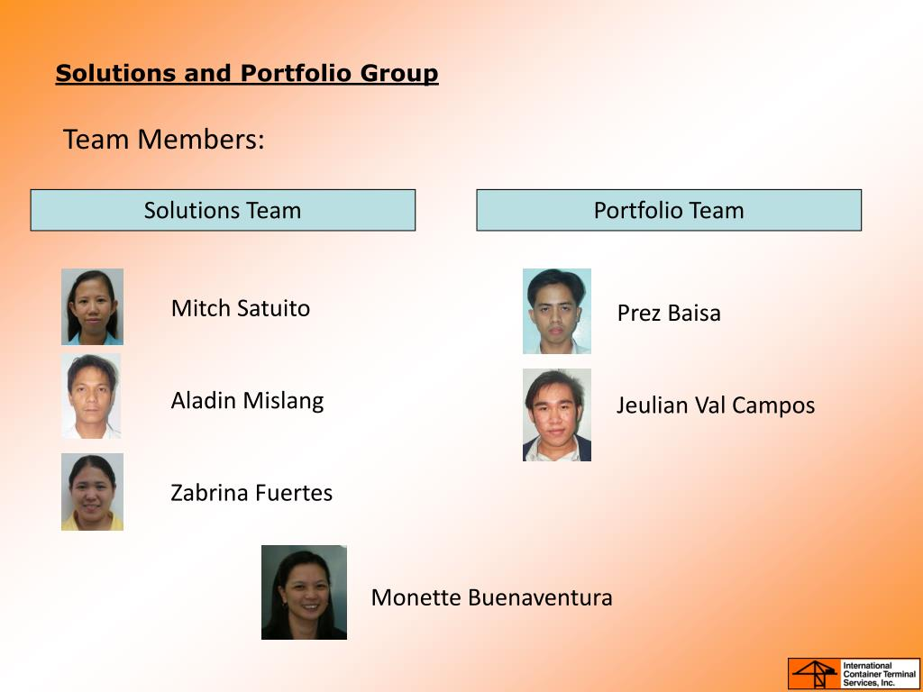 Solutions and Portfolio Group