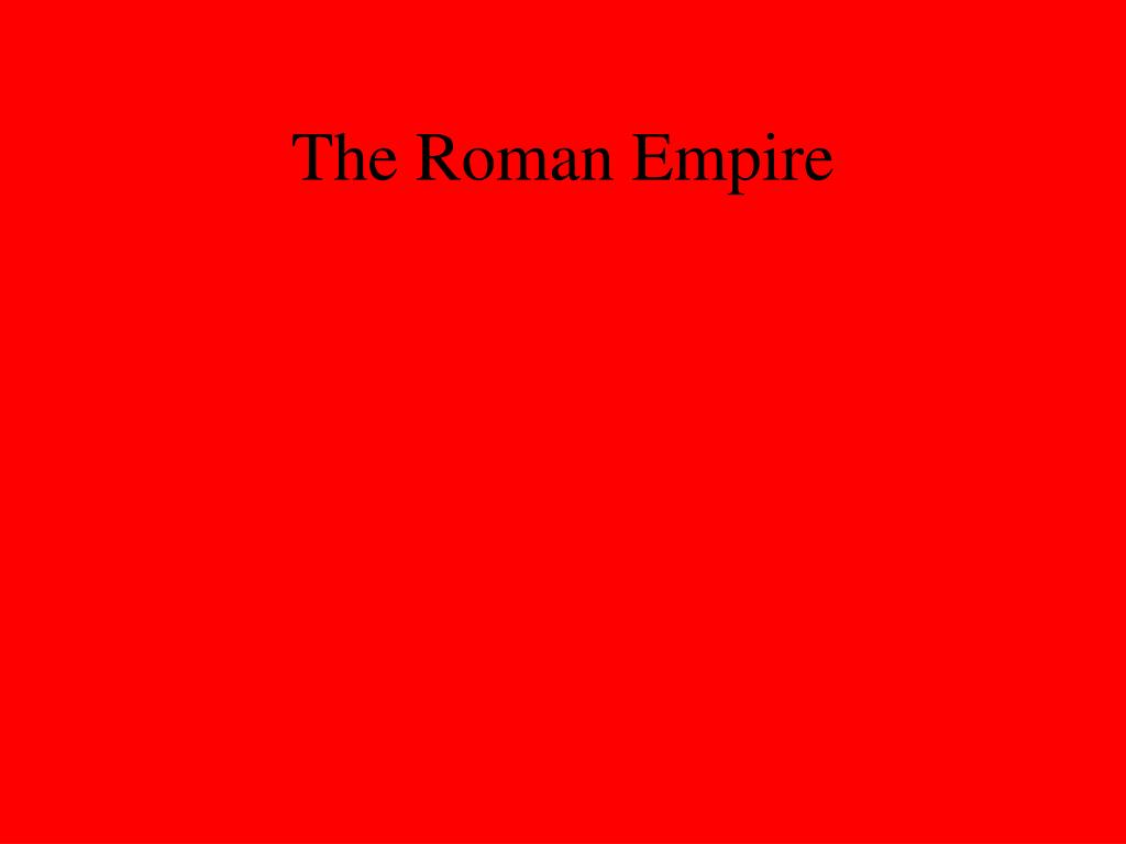 the roman empire l.