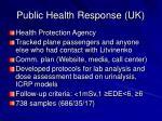 public health response uk